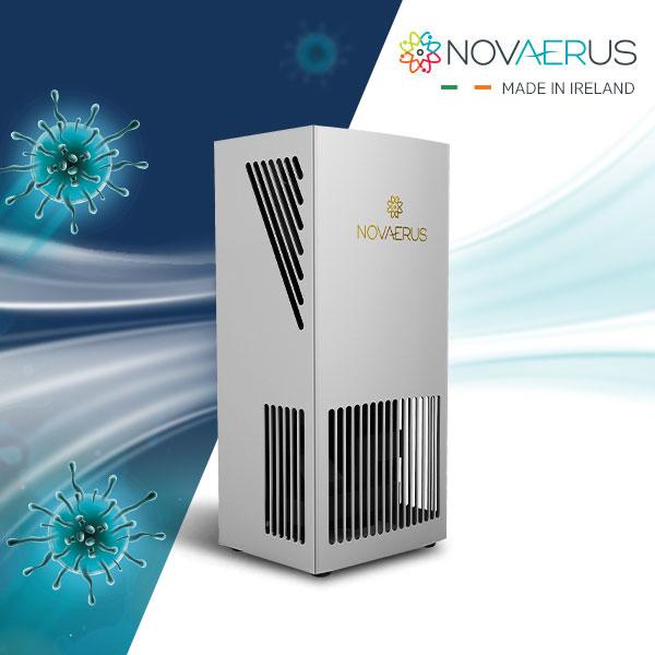 바이러스 제거에 특화된 119 구급차 공기살균기 노바이러스 NV-330