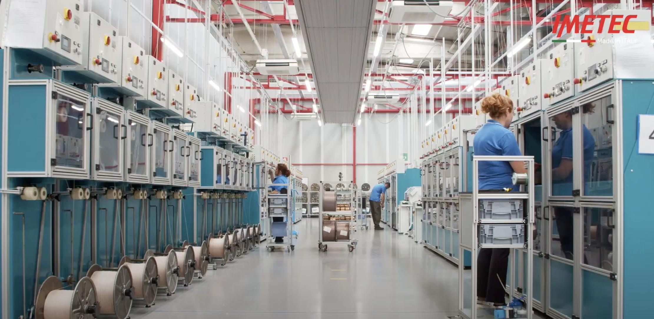이탈리아🇮🇹 이메텍 현지 공장의 최첨단 로봇 공정 제조 영상